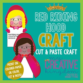 Red Riding Hood Fairy Tale Craft