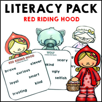 Red Riding Hood Fairy Tale Pack reading comprehension and