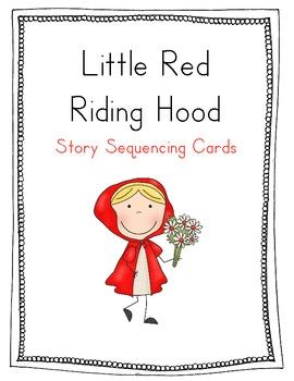 red riding hood sequencing cards by wonderful kinder. Black Bedroom Furniture Sets. Home Design Ideas