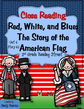 Red, White, and Blue: The Story of the American Flag Close