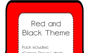 Red and Black Theme Complete Pack