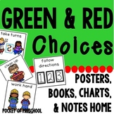 Behavior Management Green and Red Choices Preschool, Pre-K