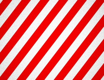 Red and White Striped Background
