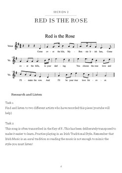 Music Investigation: Red is the Rose