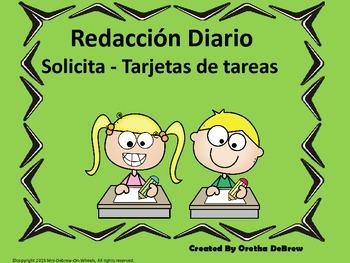 Redacción Diario Solicita - Tarjetas de tareas
