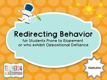 Redirecting Behavior TEMPLATES
