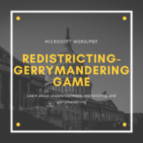 Redistricting-Gerrymandering Game