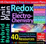 Redox & Electrochemistry -Engaging & Easy-to-learn Guided