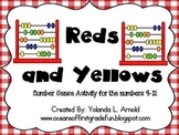 Reds and Yellows for Numbers 4-12