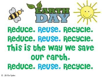 Reduce, Reuse, Recycle Poem