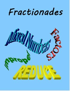 Fraction Reference - Fractions & Equivalent Reduced Forms