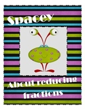 Reducing Fractions Space Game