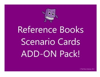 Reference Books Scenario Cards Add-On Pack