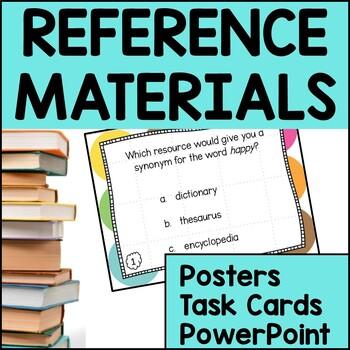 Reference Materials: Almanac, Encyclopedia, Thesaurus, Dic