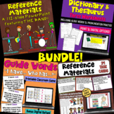 Reference Materials BUNDLE (Dictionary, Thesaurus, Encyclo