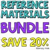Reference Materials $$$ Savings BUNDLE
