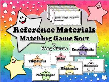 Reference Materials: Encyclopedia, Dictionary, Thesaurus,