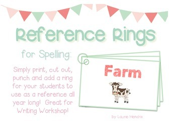 Reference Ring for Spelling: FARM
