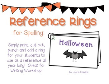 Reference Ring for Spelling: HALLOWEEN