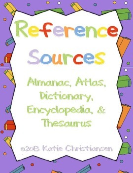 References Reader's Theater:Almanac,Atlas,Dictionary,Encyc