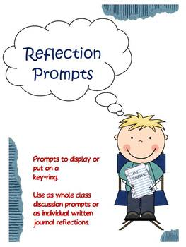 Reflection Card Prompts for class discussions or written r