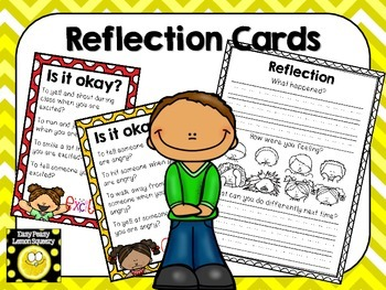 Reflection Cards and Reflection Sheet
