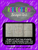 Reflection Graph Art-(reflecting points over the x and y axis)