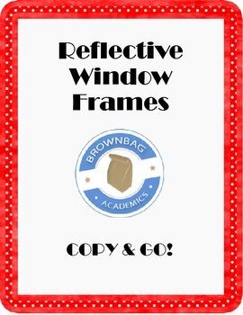 Reflective Window Frames