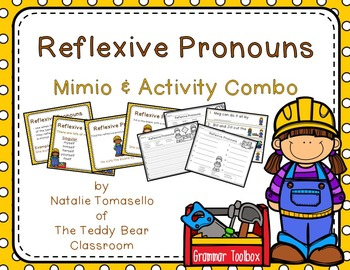 Reflexive Pronouns: Read the Room, Center Activity, and Mi