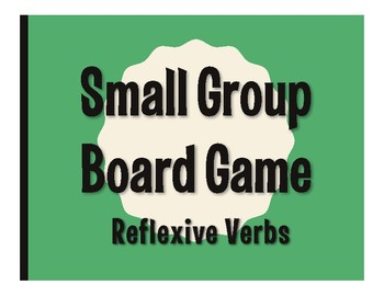 Spanish Reflexive Verb Board Game