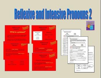 Reflexive and Intensive Pronouns 2