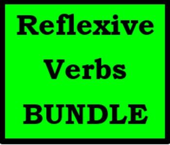Reflexivverben (German Reflexive verbs) Bundle