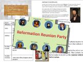 Reformation Reunion Party -- Luther, Calvin, Erasmus, Cath
