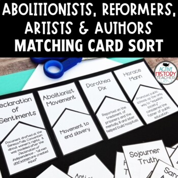Reformers, Abolitionists, Artists and Authors - Make the M