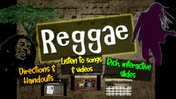 Reggae: A comprehensive & engaging Music History PPT (link