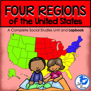Regions Introduction Unit and Lapbook {Four Regions of the