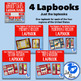 Regions Lapbook or Interactive Notebook Bundle {Four Regions}