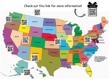 U.S. Native American Cultures QR Code Activity