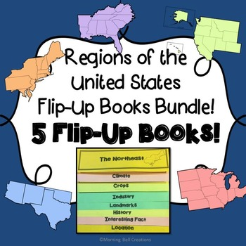 Regions of the United States: Flip-Up Books Bundle