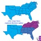 Regions of the USA: Four Regions - Pack TWO