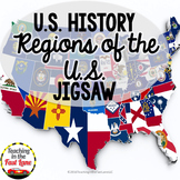 Regions of the United States Jigsaw Activity
