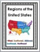 Regions of the United States Posters, Interactive Flap Boo