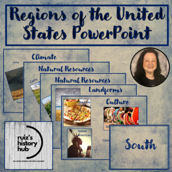 Regions of the United States PowerPoint