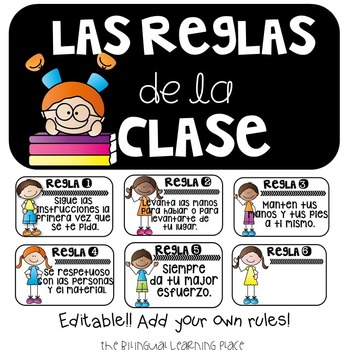 Reglas de la Clase!