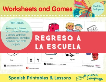 Regreso a la Escuela {Back to School Spanish Bundle}