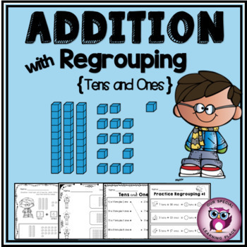 Addition with Regrouping - Tens and Ones