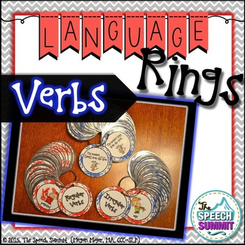 Regular and Irregular Verb Language Rings