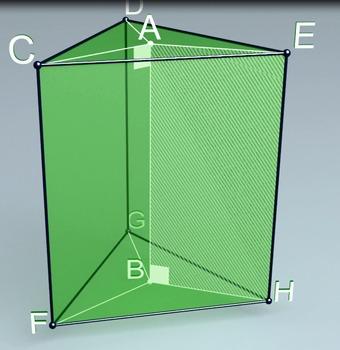 Regular triangular prism (3d video model)