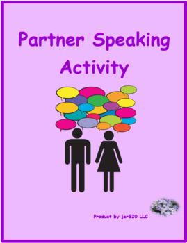 Regular verbs in German Partner puzzle Speaking activity