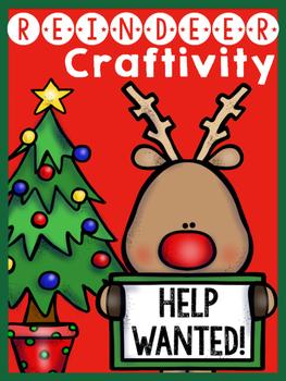 Reindeer Craftivity {Freebie}
